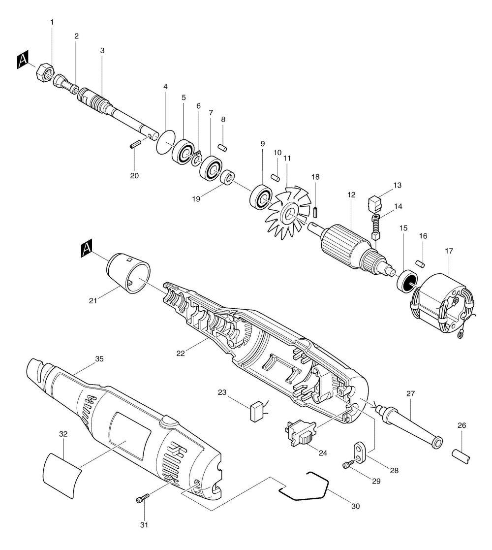 medium resolution of  exciting makita grinder wire diagram gallery best image diagram makita 9227c rotary polisher astonishing makita switch