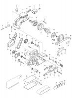Spares for Makita 9404 Belt Sander 100x610mm SPARE_9404
