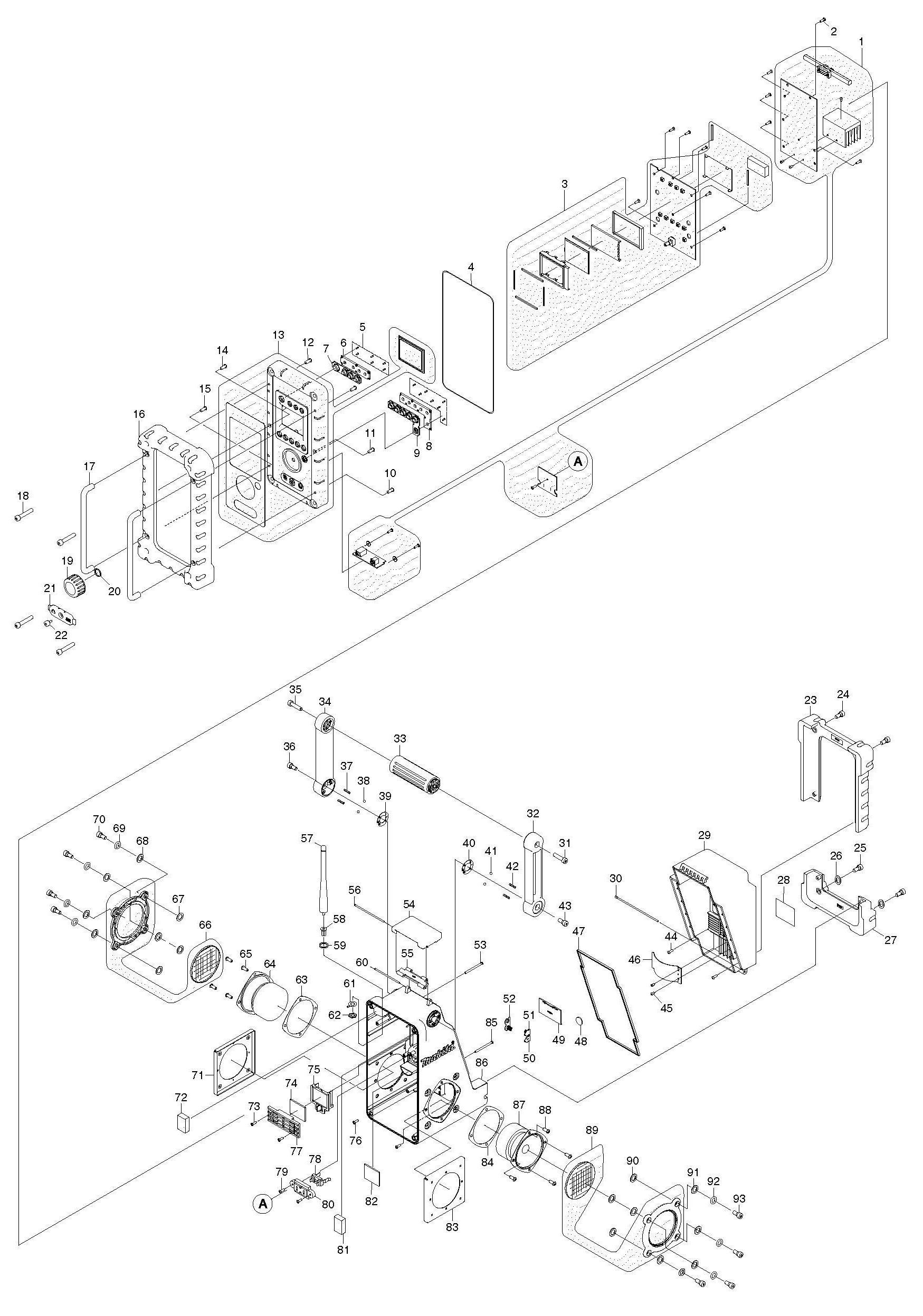 makita battery wiring diagram