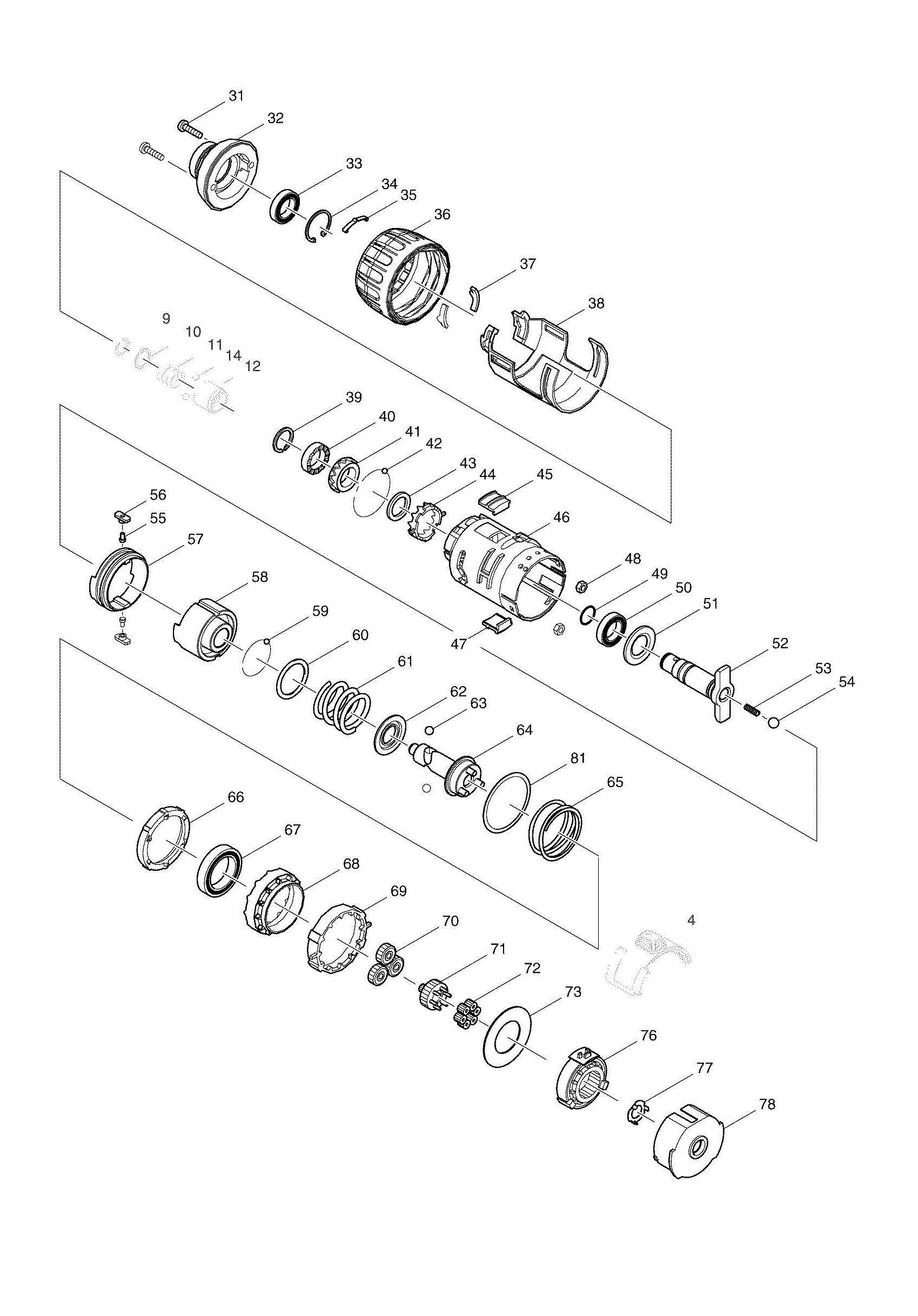 Paslode Schematic Diagrams