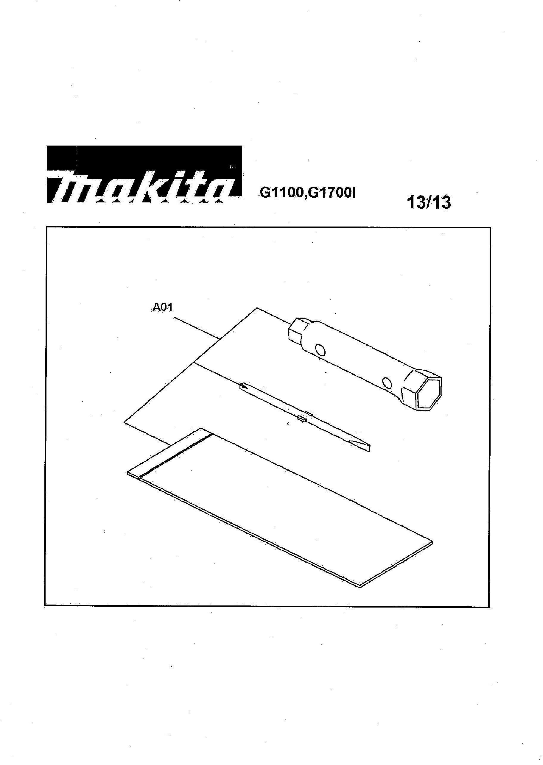 Spares for Makita G1700i SPARE_G1700I from Power Tool Centre