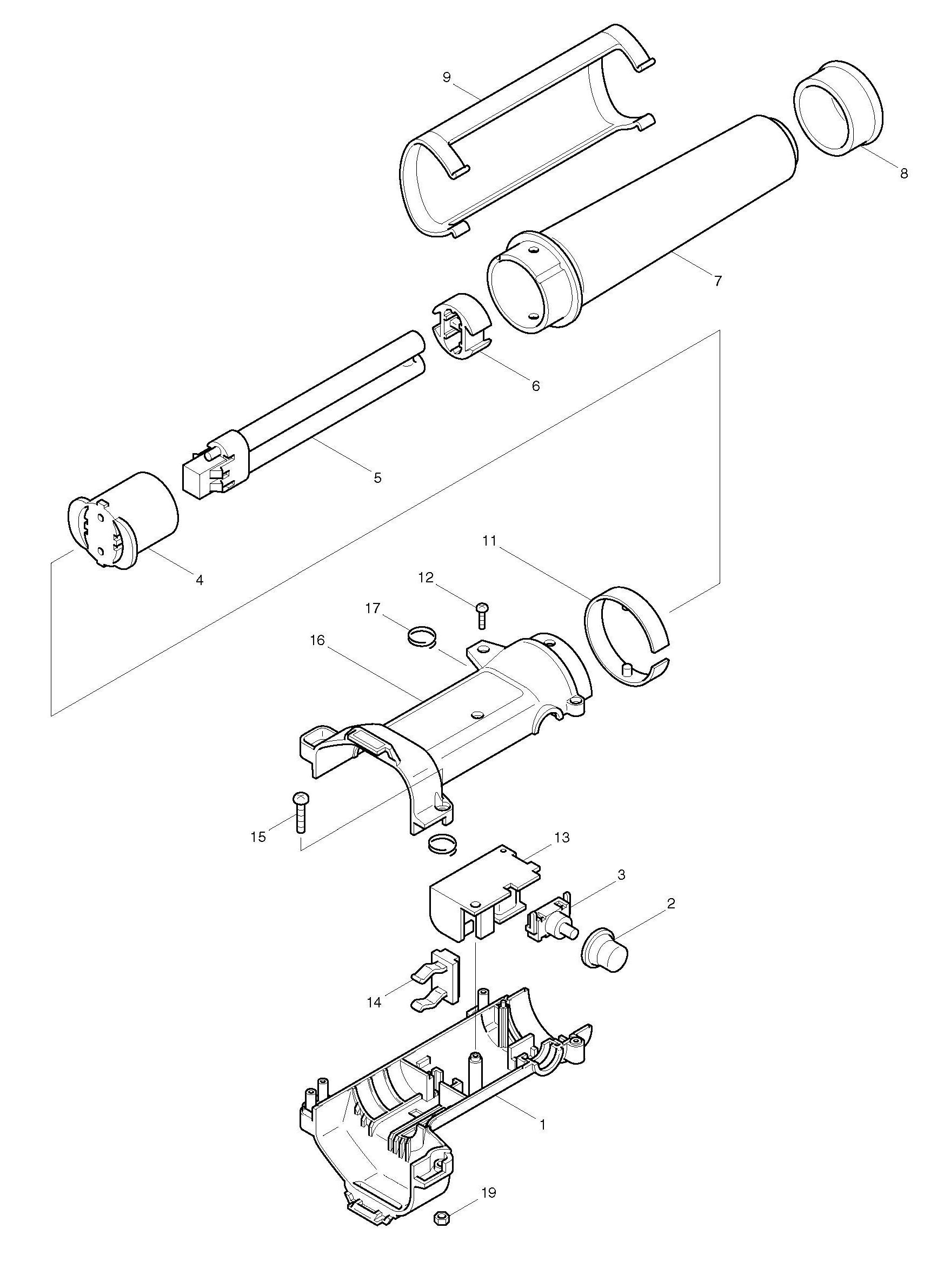 Spares For Makita Ml122 Torch Spare Ml122 From Power Tool