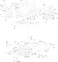 spares for makita mlt100 table saw spare mlt100 from power tool centreclick for bigger diagram click for [ 2384 x 3409 Pixel ]