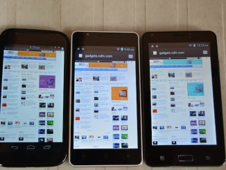 Battle of the bulge - Micromax A100 vs Spice Mi-500 vs iBall Andi 5c 6