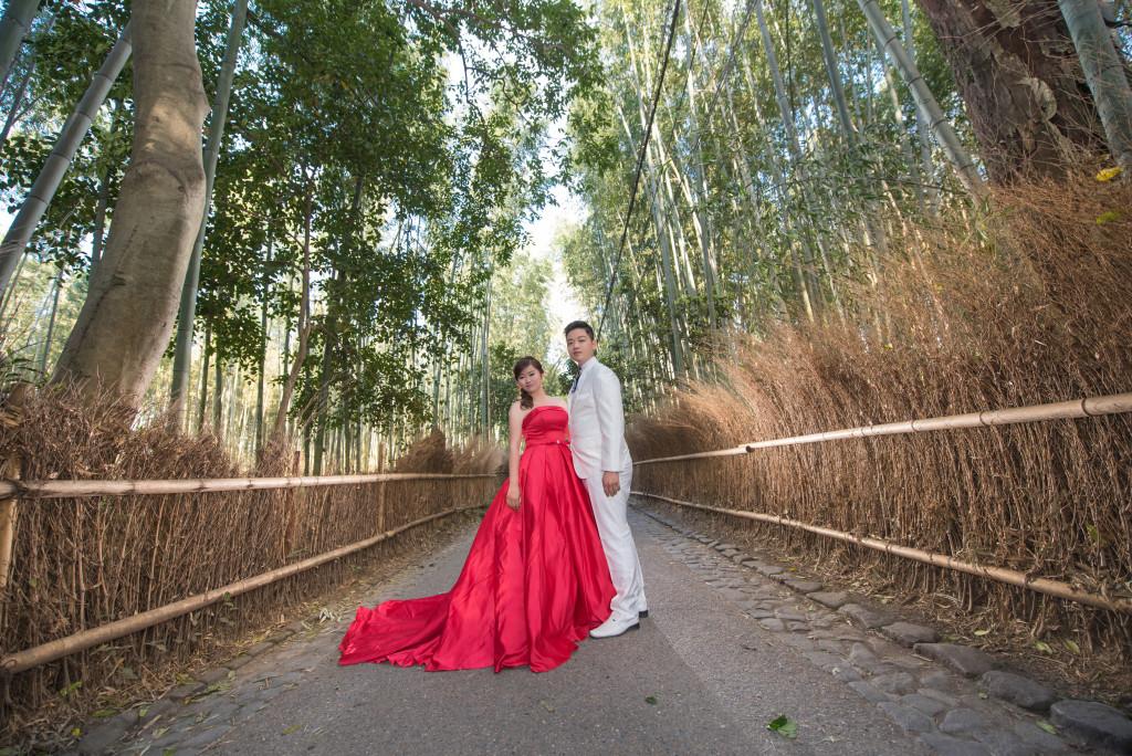 京都竹林婚紗