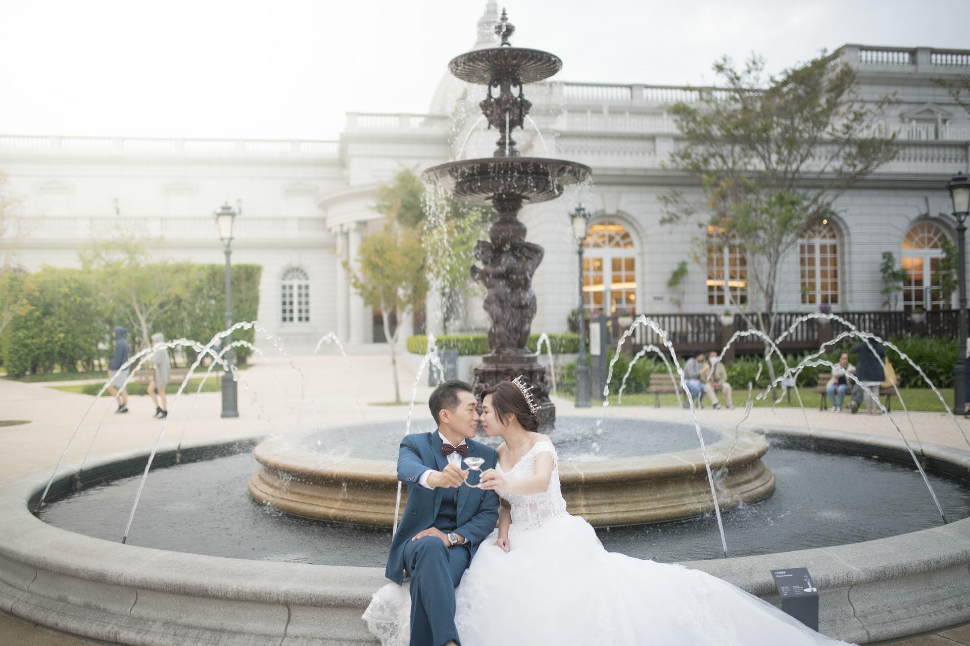 奇美博物館婚紗