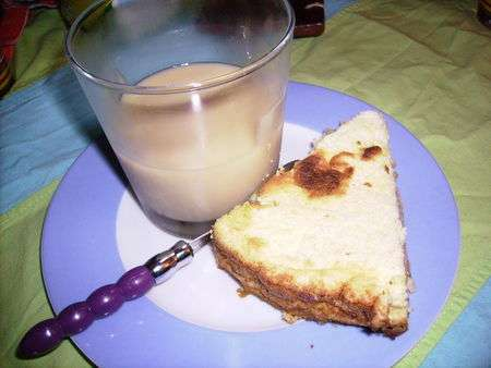 Dessert en souvenir de la martinique  blanc mangercoco