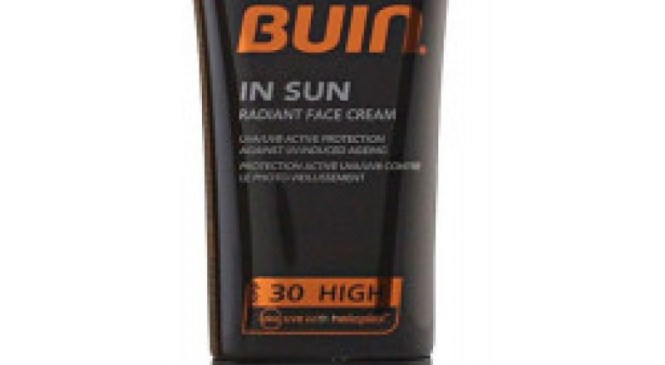 PIZ BUIN IN SUN radiant face cream SFP30