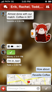 Path - Private messaging