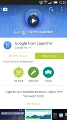Google Play - Pagina aplicației