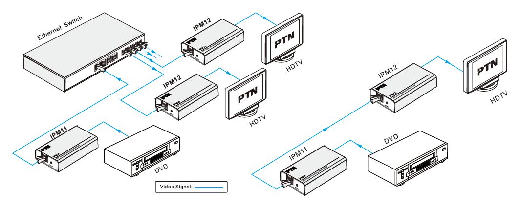 Digichain IPM11 streaming video extender