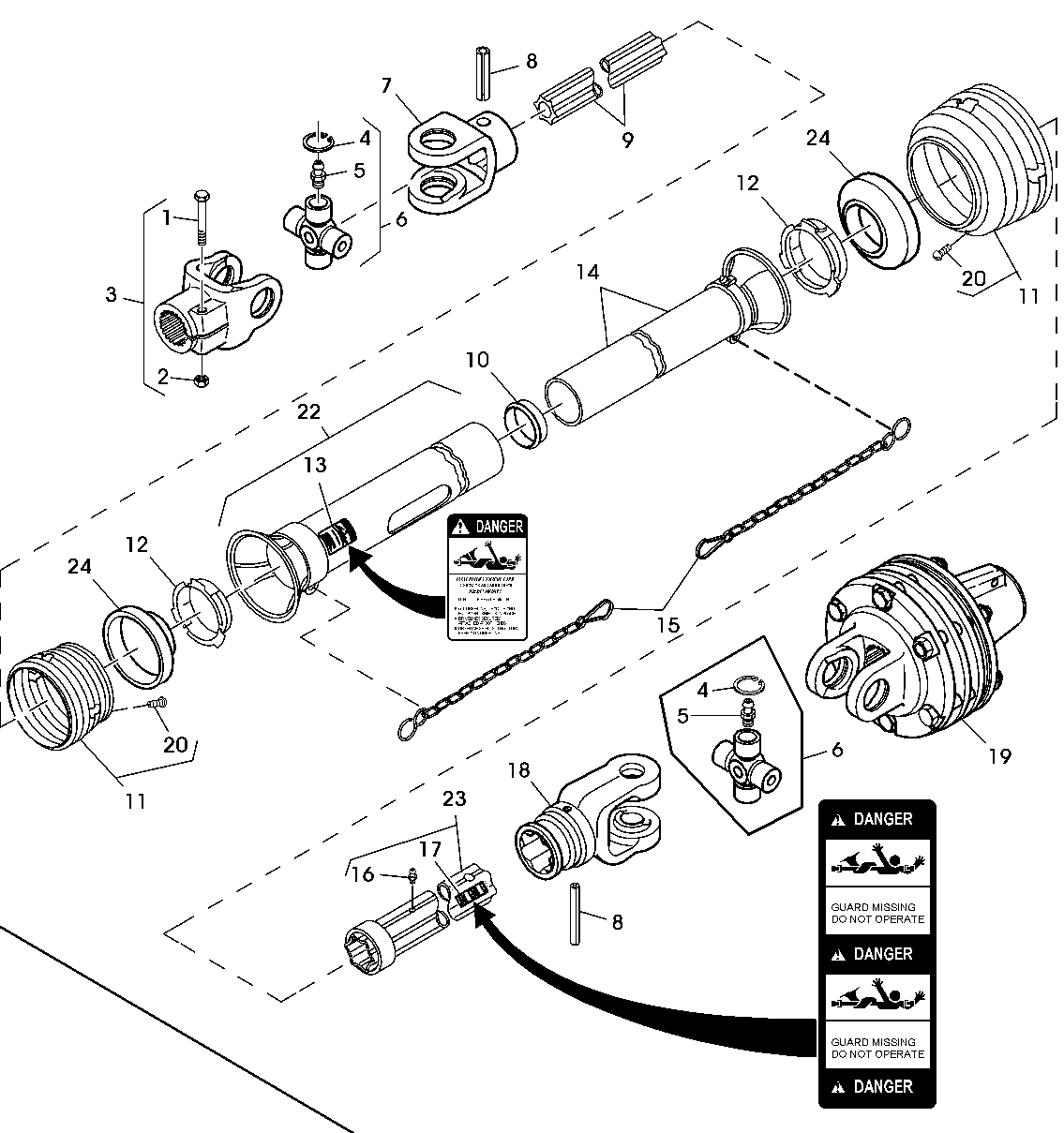 Pto Slip Clutch Repair Parts