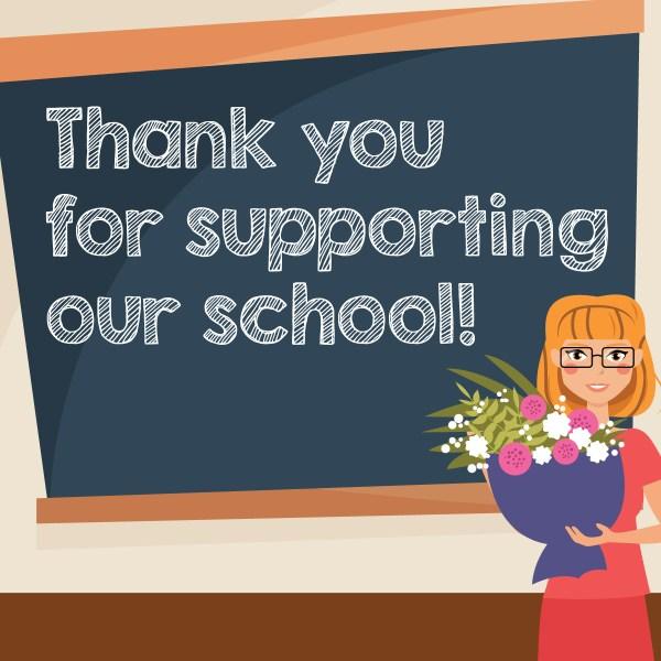 Facebook Graphics School Volunteer Appreciation - Pto