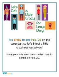 crazy day flyer for