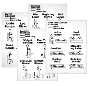 Stick Figure Exercise Handouts