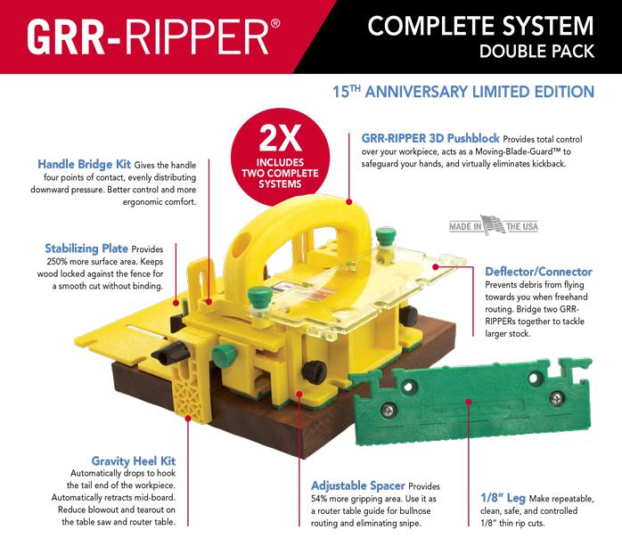 Micro Jig Grr Ripper System Model Gr200