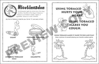 Nicotineadon Activity Sheet