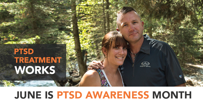 Learn. Connect. Share. Raise PTSD Awareness, June