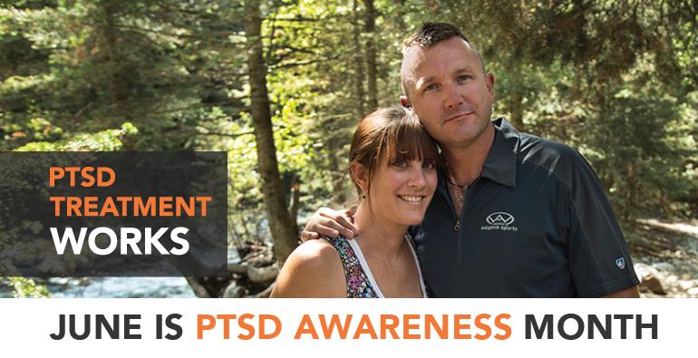 Learn. Connect. Share. Raise PTSD Awareness, June