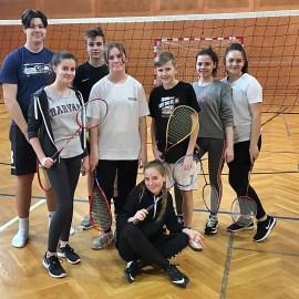 2020_02_04: Squash, Bouldern und Badminton am Programm