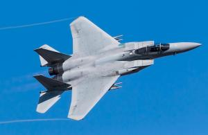 PTSG performs specialist services at base of F-15
