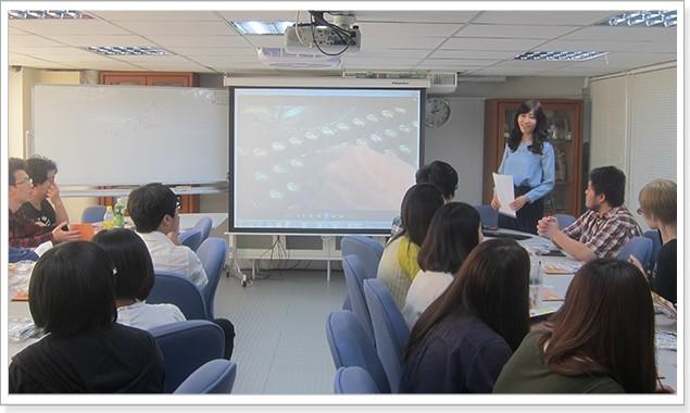 中華大學 應用日文系參訪統一數位翻譯活動花絮 - 統一數位翻譯