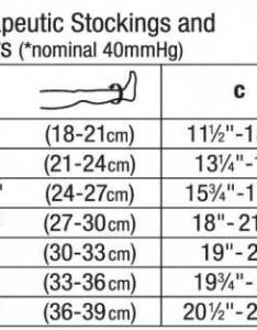 Image result for jobst ulcercare size chart also bsn unisex stocking liner rh hpms