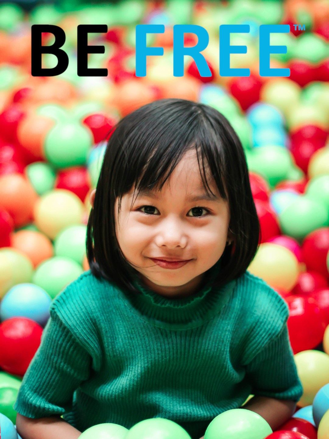 BE Free logo image on ortho k lens designs page