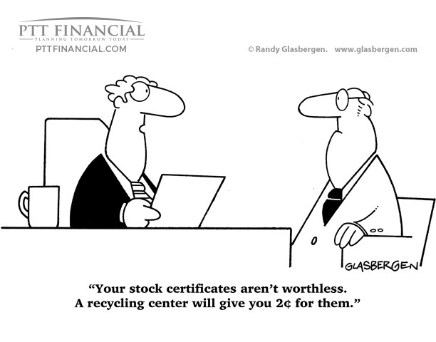ptt financial cartoon financial