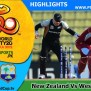 New Zealand Vs West Indies T20 Worldcup 2012 Highlights
