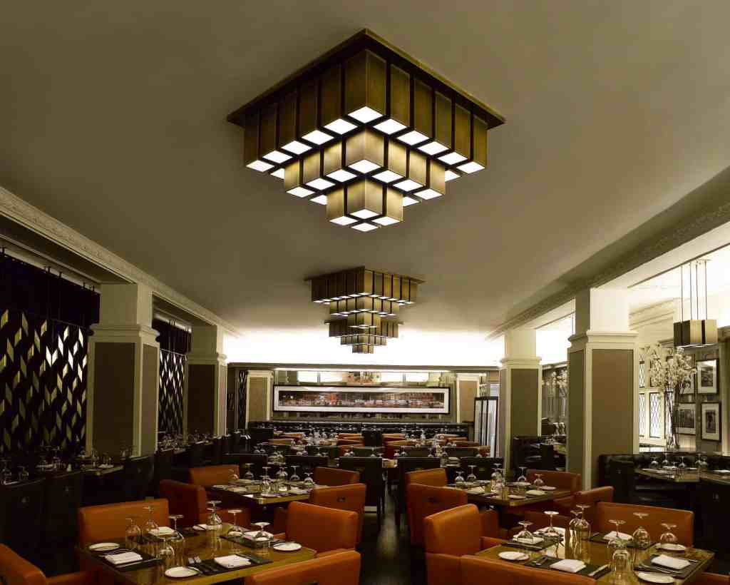PTY Lighting's Custom Restaurant Lighting for American Cut Steakhouse Restaurant 1