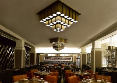 Custom Contract Restaurant Lighting 7
