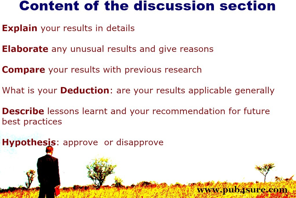 How To Write The Discussion Of A Research Article Pub4Sure