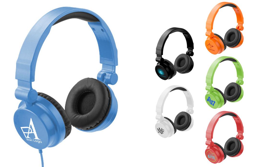casque et écouteur personnalisé