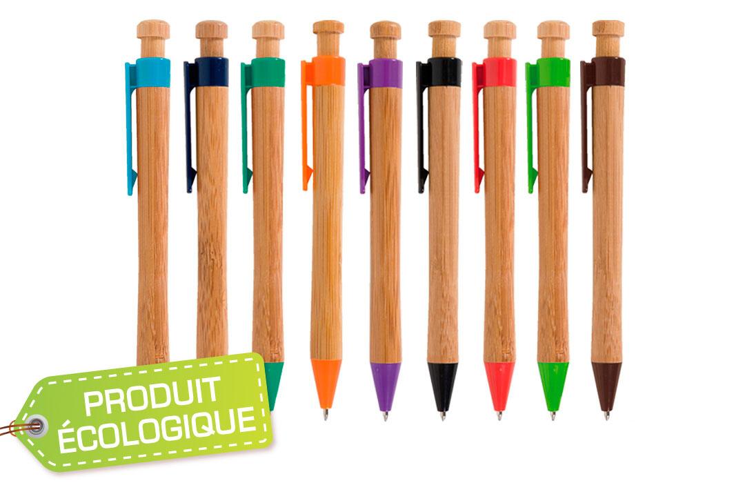 stylo personnalisé biodégradable