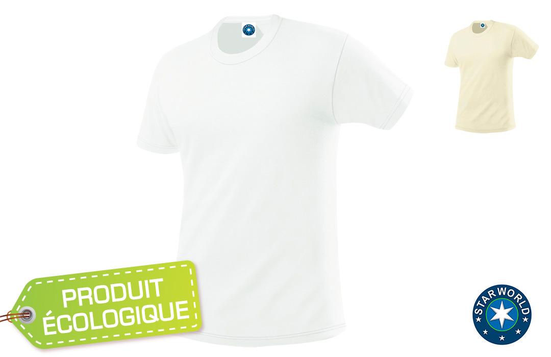 tee shirt personnalisé bio