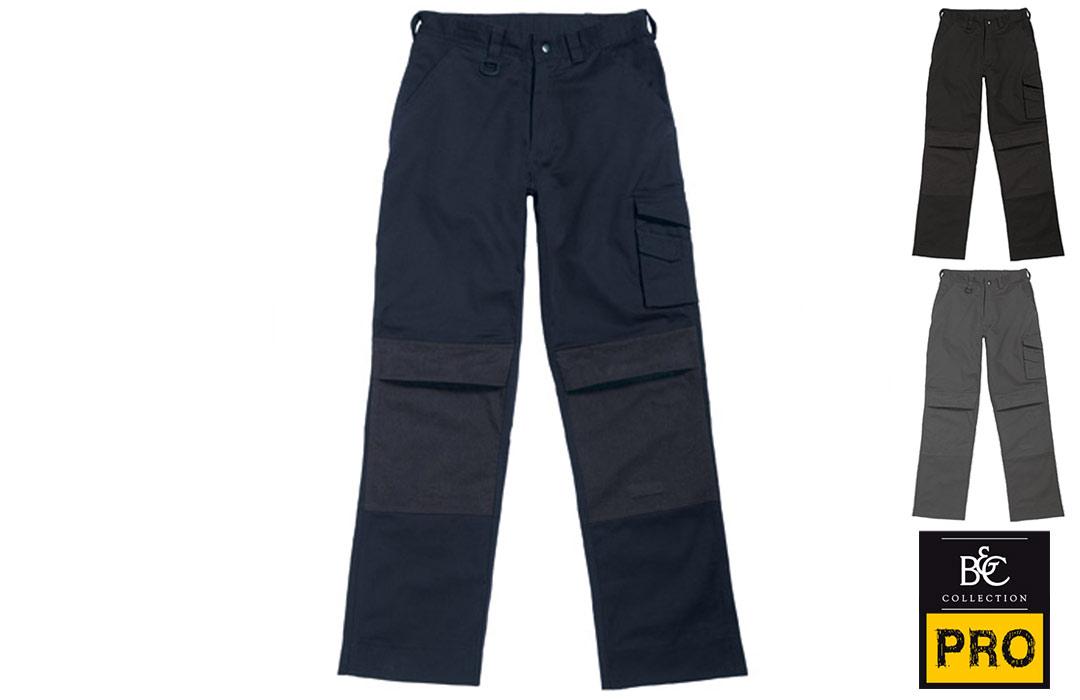 Pantalon de travail multipoches professionnel pas cher