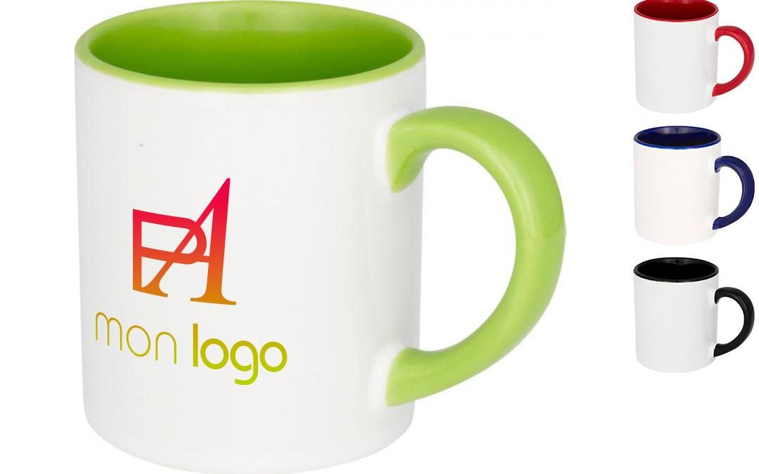 Le mug personnalisé le goodies publicitaire du bureau à prix discount