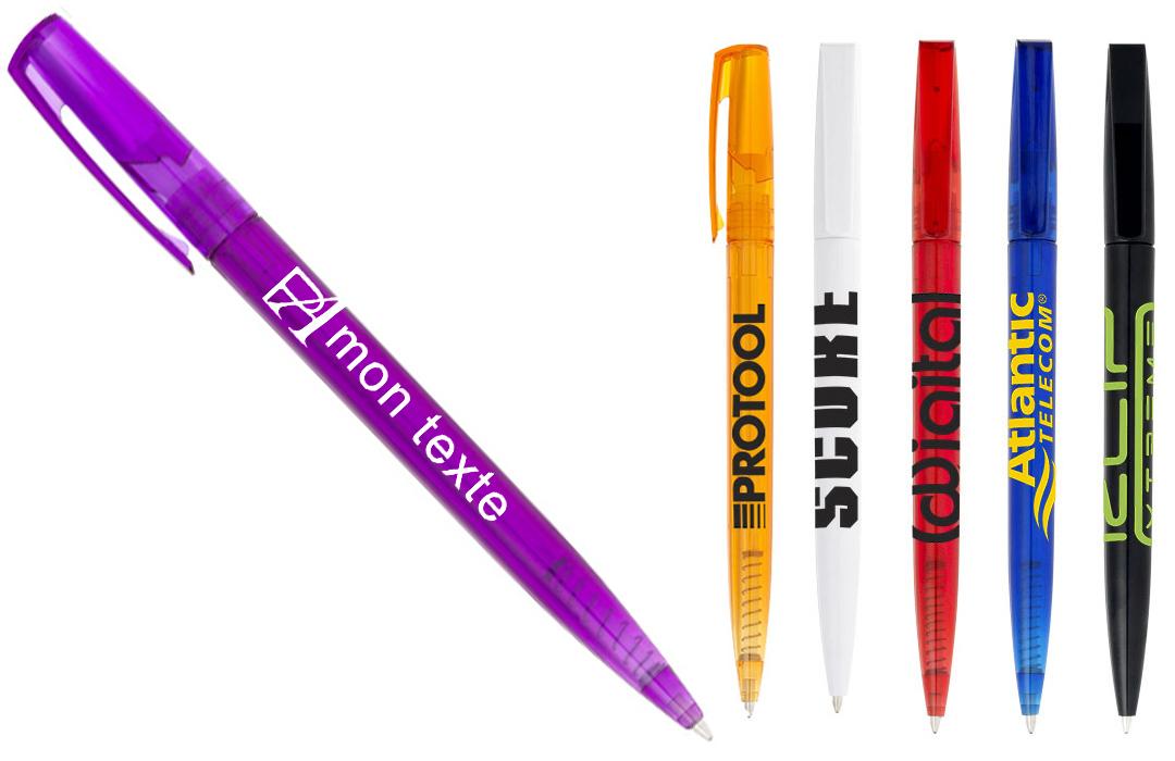stylo personnalisé en sérigrapahie