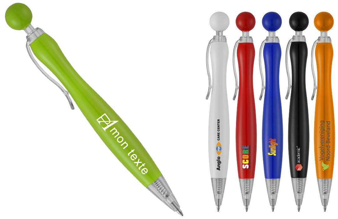 stylo personnalisé en tampographie