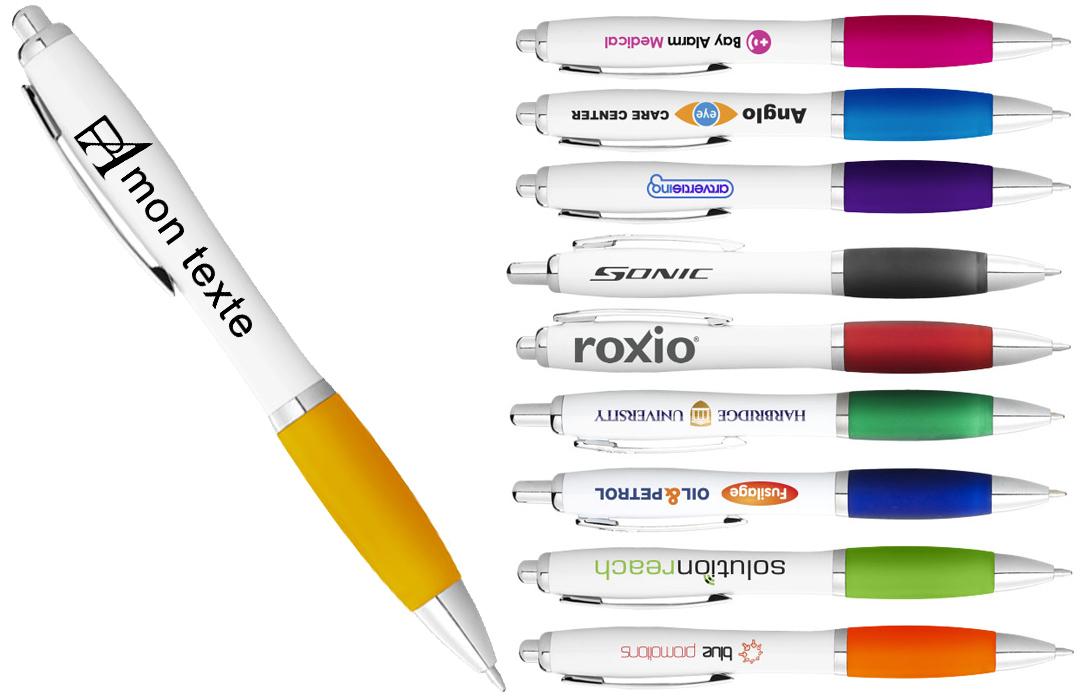 stylo publicitaire avec logo en numérique