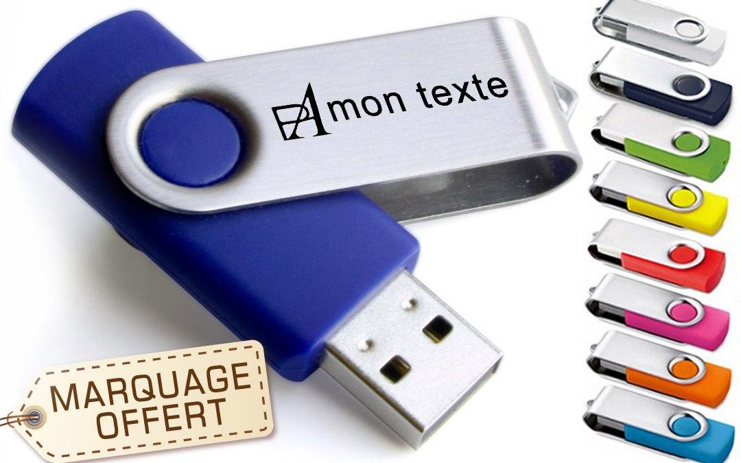 Comment personnaliser une clé USB quelle solution de customisation choisir ?