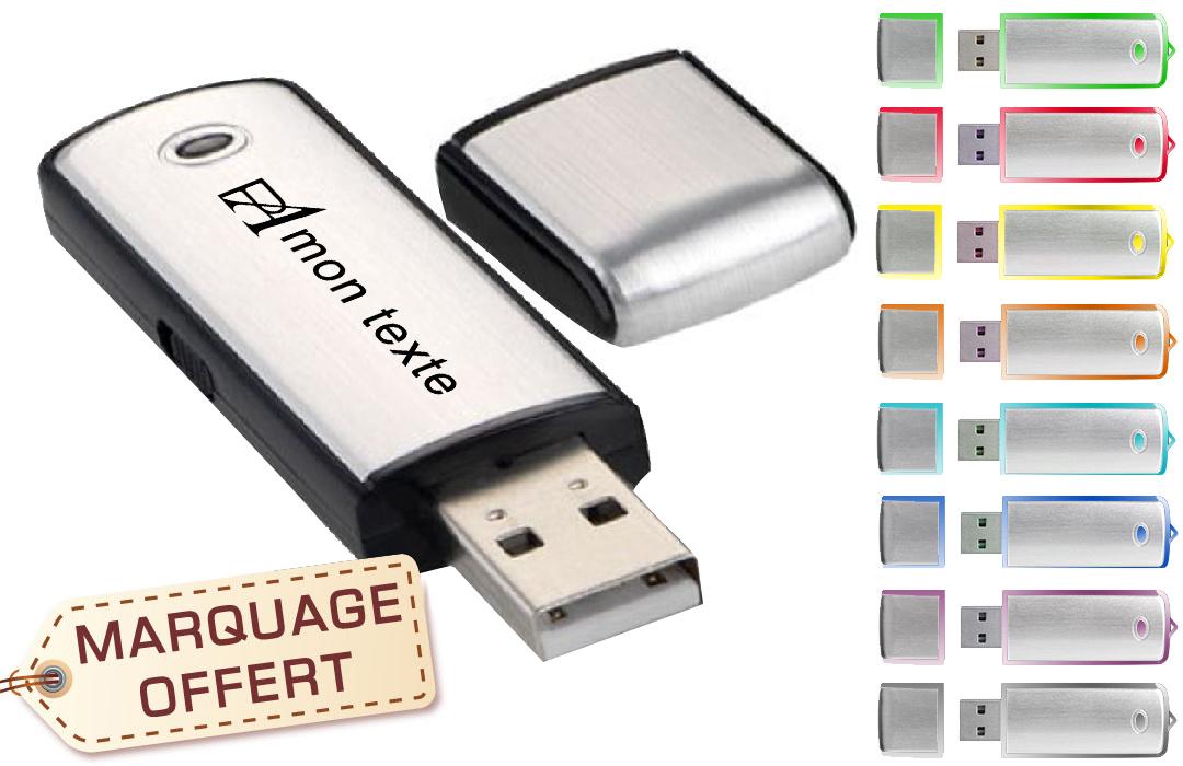 clé usb 3.0 personnalisée avec logo - PubAvenue