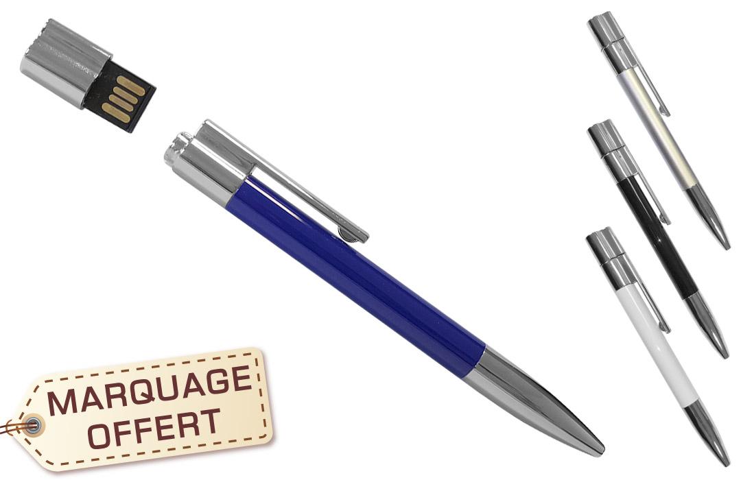 stylo usb personnalisée avec un texte -PubAvenue