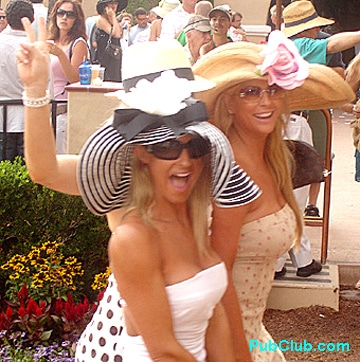 Del Mar Opening Day hot girls in hats