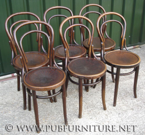 vintage bentwood chairs industrial pub furniture net