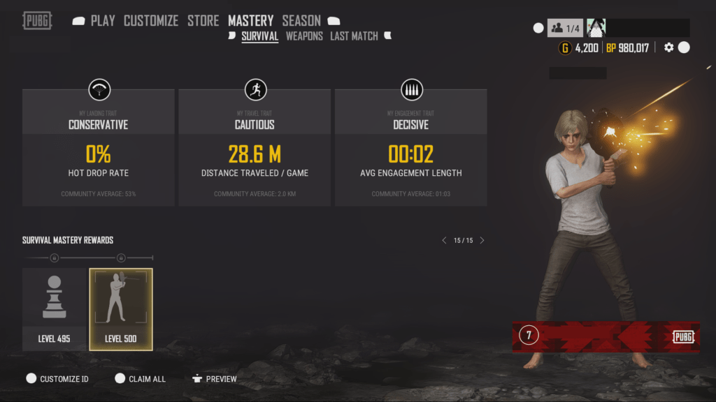 PUBG PTS Update Adds Crossplay to Xbox and PS4