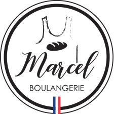 logo-boulangerie-marcel-cercle-noir et blanc-drapeau tricolors
