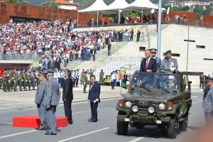 Cerimónia militar das comemorações do Dia de Portugal