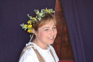 Ana Morão, vendedora na Feira Medieval